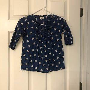 Children place shirt